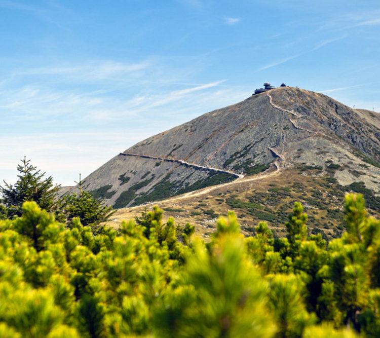 Lehká pěší turistika v západních Krkonoších