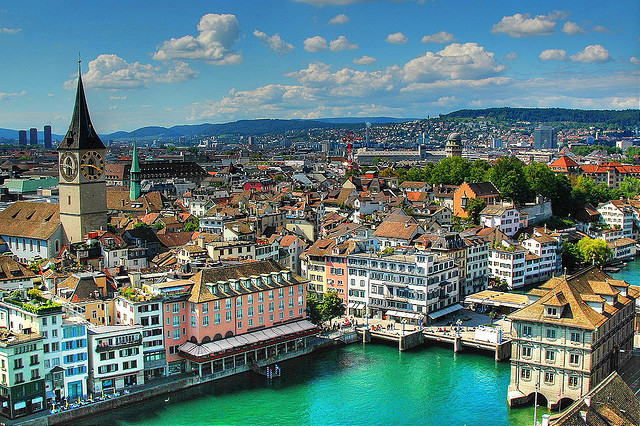 Krásy Švýcarska a Bernských Alp