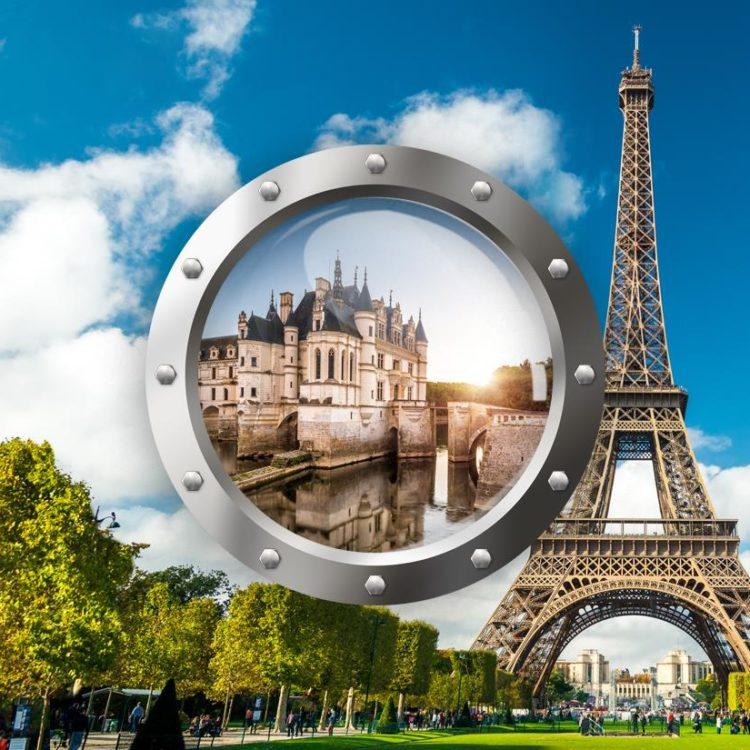 Paříž a nejkrásnější zámky na Loiře