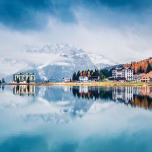 Přírodní krásy v okolí jezera Lago di Garda s koupáním