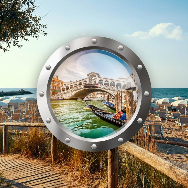 Zkrácená dovolená v Lido di Jesolo (hotel Tropical***) a Benátky