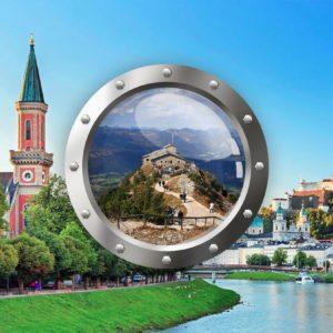 Okolí Berchtesgadenu a Salzburg