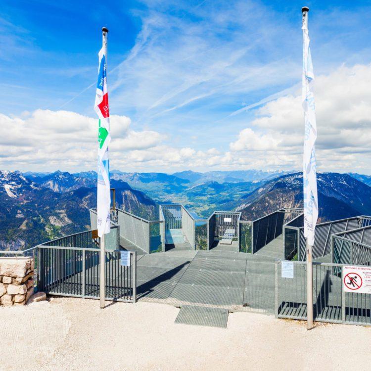 """Výlet s návštěvou vyhlídky """"5 fingers"""" za krásami Hallstattu"""