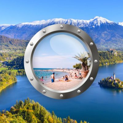 Podmanivé Slovinsko S Koupáním U Moře 2021