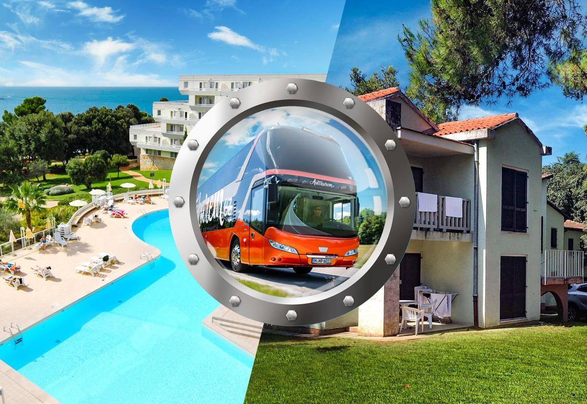 Zkrácená Dovolená Na Istrii V Hotelu S Bazénem A Dopravou V Ceně