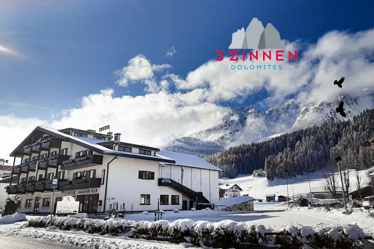 Hotel Comelico – 6denní lyžařský balíček s denním přejezdem, skipasem a dopravou v ceně