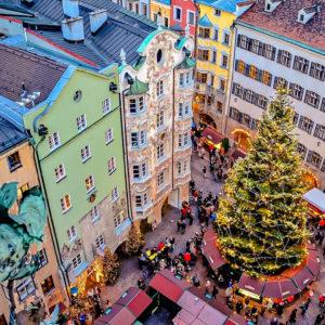 Advent V Rakouském Innsbrucku