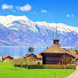 Krásy Francouzských A Švýcarských Alp