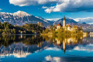 Jezero Bled A Lublaň