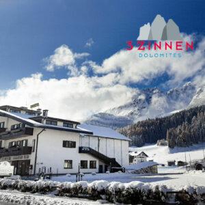 Hotel Comelico – 6denní lyžařský balíček se skipasem a dopravou v ceně