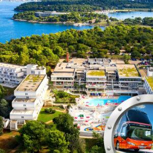 Zkrácená Dovolená Na Istrii V Hotelu Delfin S Bazénem A Dopravou V Ceně**