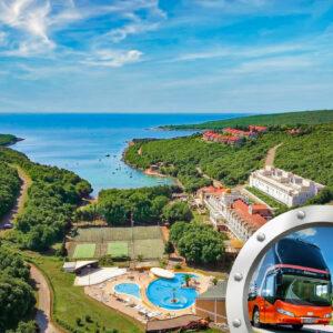 Zkrácená Dovolená Na Istrii V Hotelu Duga Uvala S Bazénem A Dopravou V Ceně***